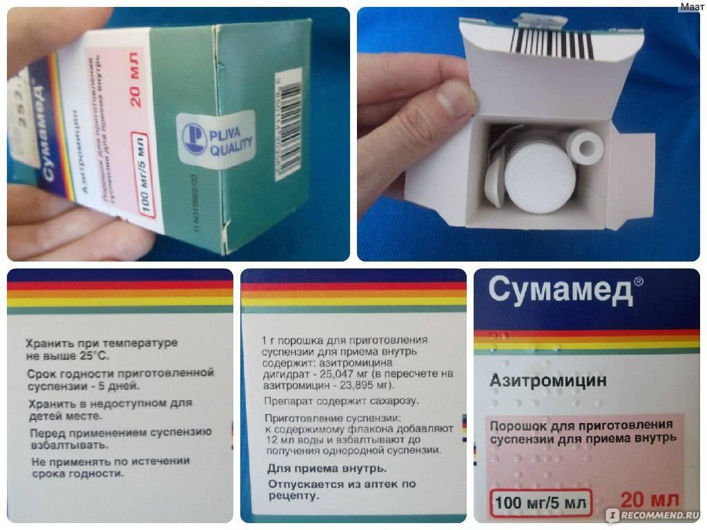 Капсулы, таблетки и суспензия сумамед: инструкция по применению, цена, отзывы для детей и аналоги - medside.ru