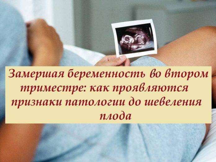Замершая беременность: причины и признаки деликатной проблемы