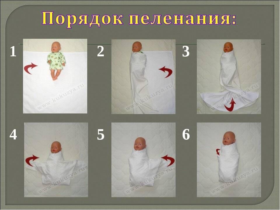 Пеленать или одевать: что лучше для младенца - parents.ru