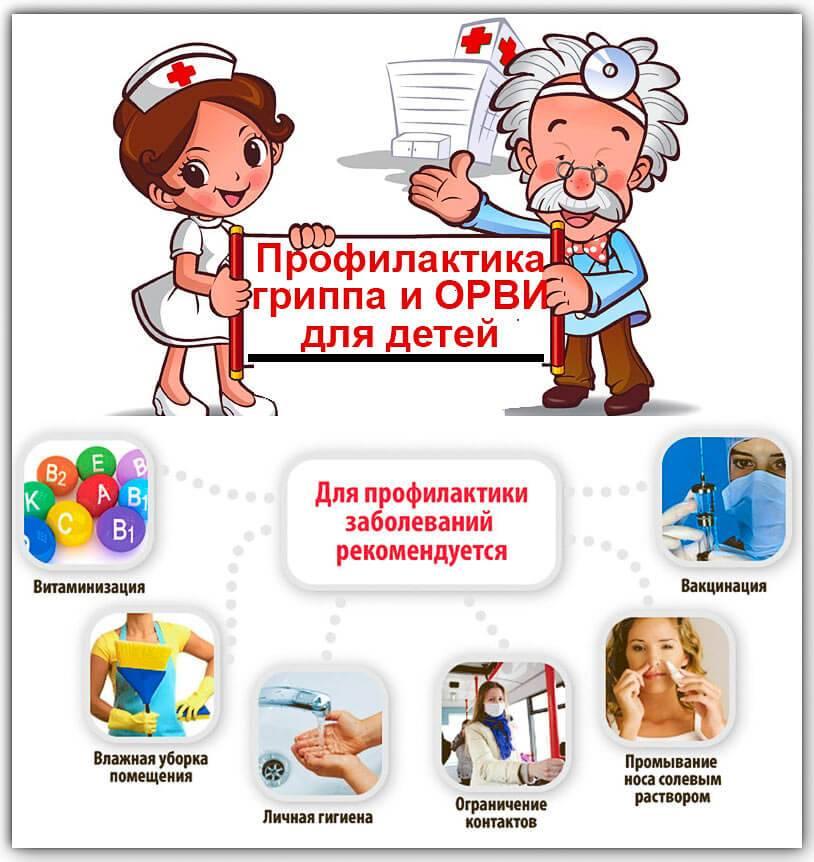 Лечение орви у детей до года