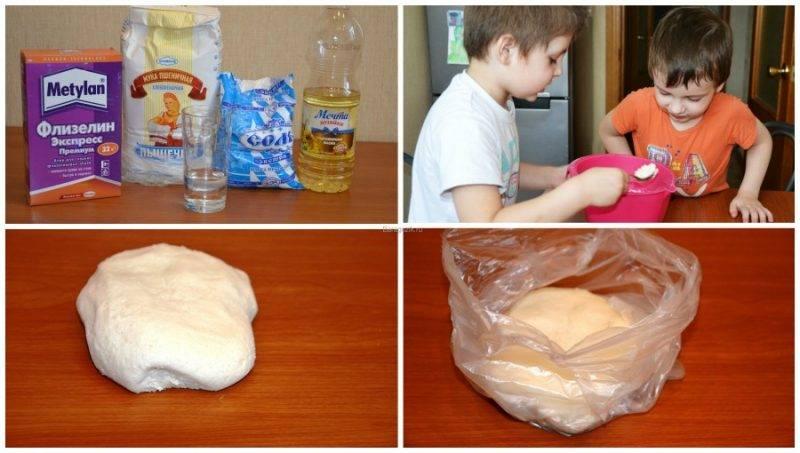 Делаем пластилин в домашних условиях   страна мастеров