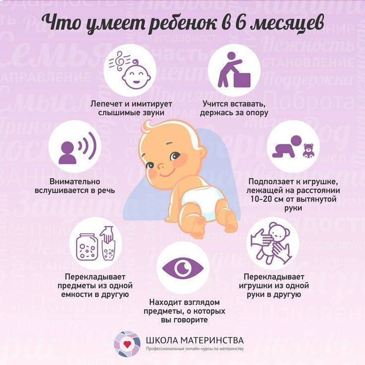 Ребенок в 8 месяцев, что должен уметь ваш малыш