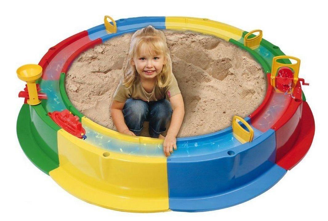 Делаем песочницу с крышкой-скамейкой