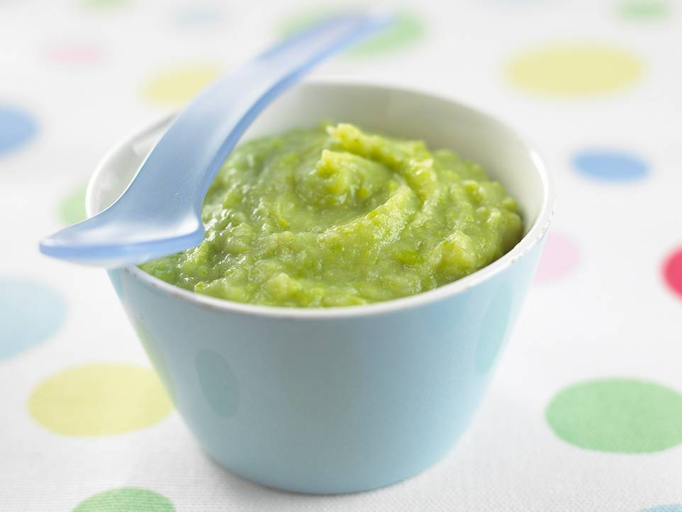 Пюре из брокколи для грудничка: рецепт приготовления для прикорма