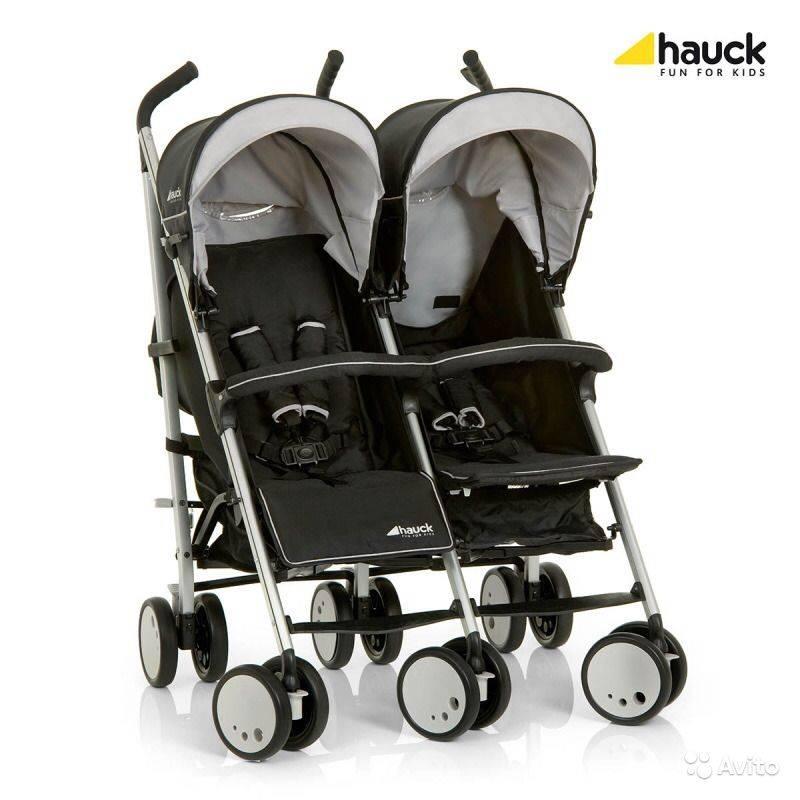 Немецкие коляски для двойни: teutonia, jetem, hauck, cybex