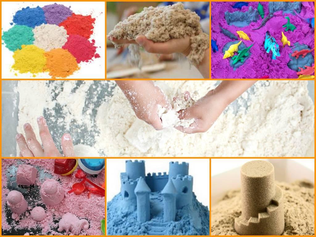 Что такое кинетический песок: 20 интересных игр