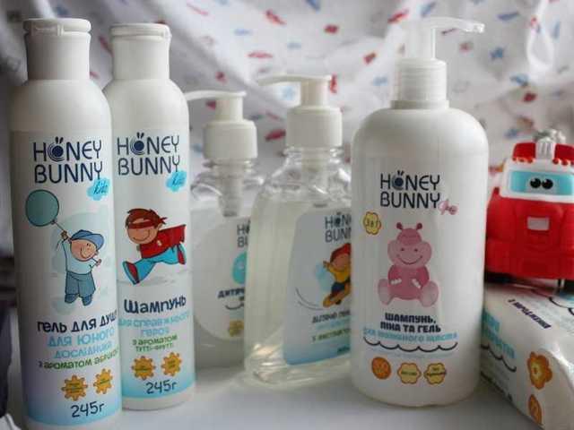 Лучшее детское мыло
