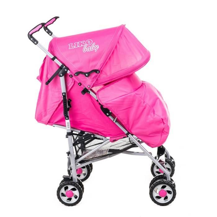 Обзор коляска-трансформер liko baby bt-1218b -  журнал expertology.ru