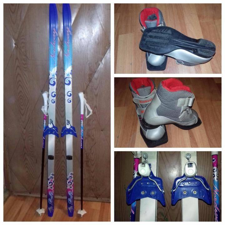 Беговые лыжи для детей: как правильно выбрать