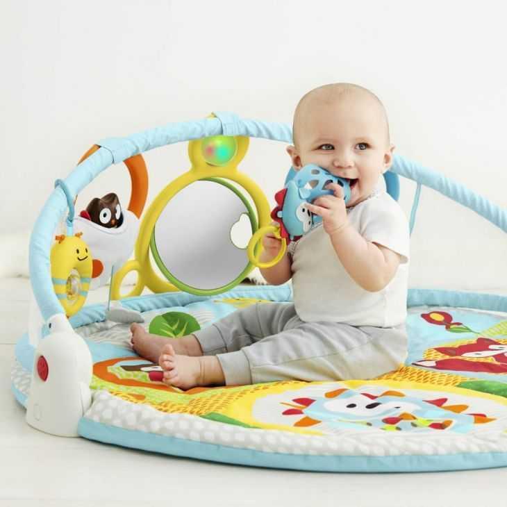 Детский развивающий коврик: лучшие варианты для новорожденных и старше. как сделать коврик своими руками лучше чем fisher price и tiny love