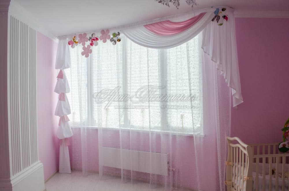 Ламбрекены в спальню 2021 (60 фото): шторы в спальню с жестким ламбрекеном, модные новинки