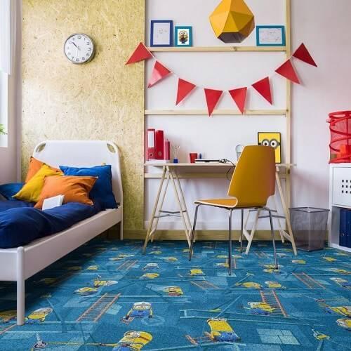 Как выбрать ковер в детскую комнату: предназначение, материалы и размеры