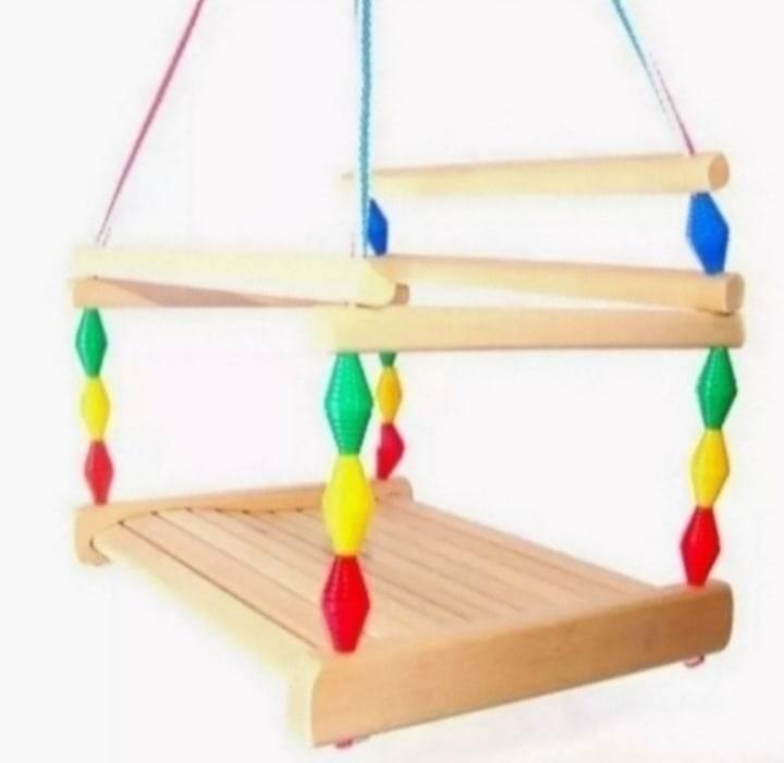 Детские подвесные качели для дома