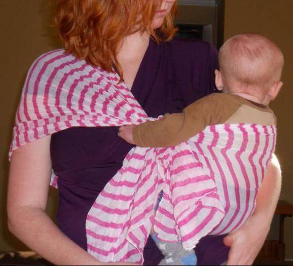 Как самой сделать слинг для новорожденных | мамина любовь