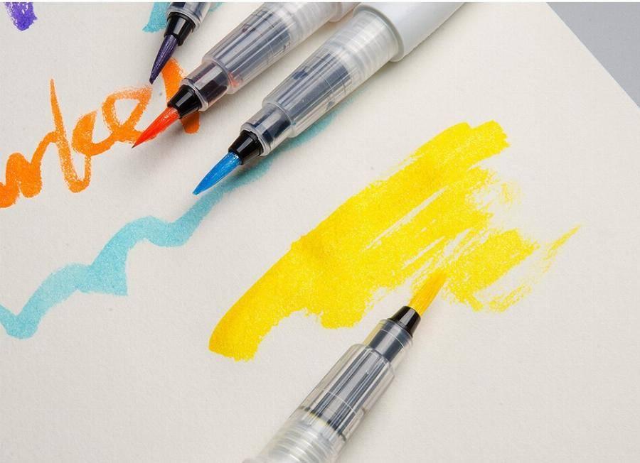 Акварельные фломастеры-кисти для рисования