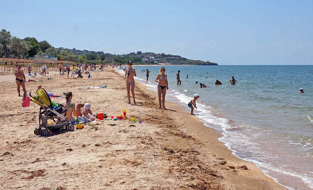 Отдых на азовском море с детьми в 2020 году