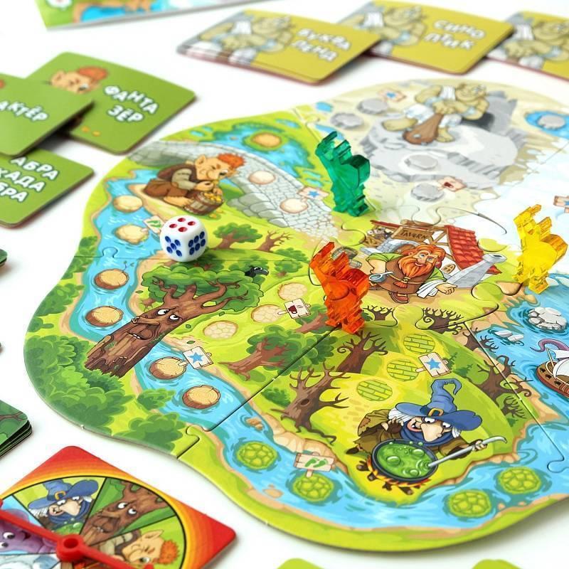 Обзор популярных развивающих настольных игр для детей