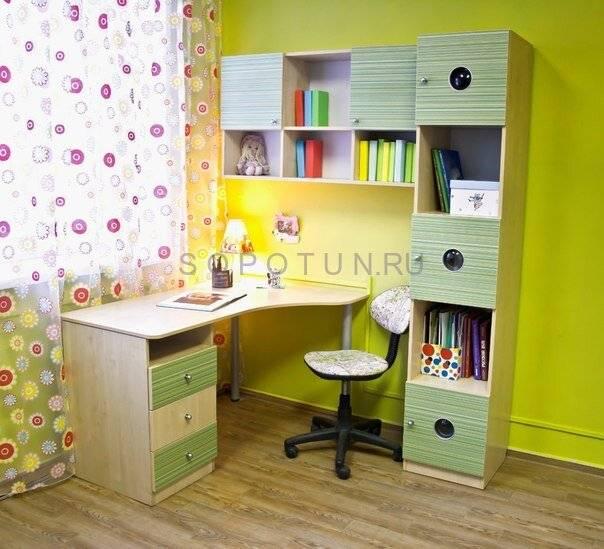 Характеристики письменного стола для двоих детей, критерии выбора