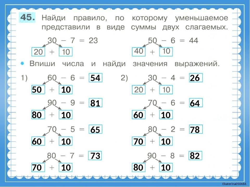 Как научить ребенка быстро считать в уме до 10 и 20?   рутвет - найдёт ответ!