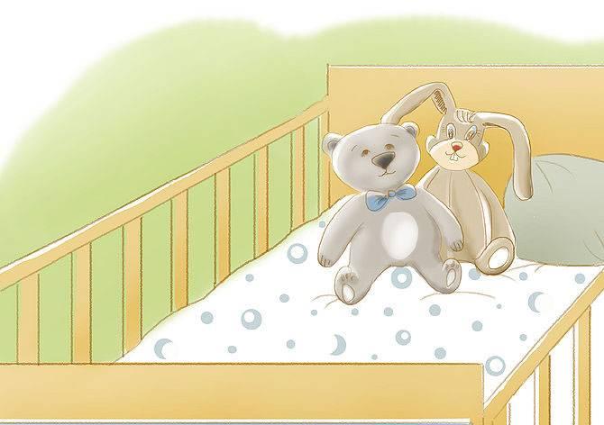 Несколько хитростей, которые помогут приучить ребёнка спать в своей кроватке