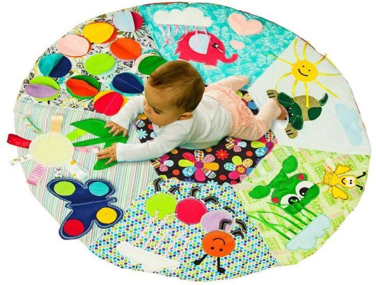 Развивающие игровые коврики для ребенка: нужны ли они, как сделать своими руками