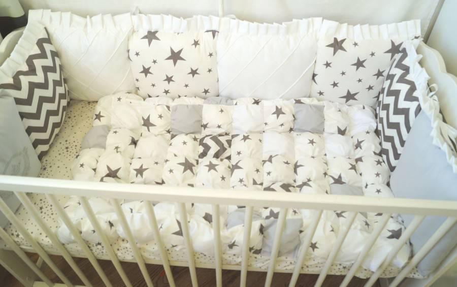 Наш точный ответ: как сшить подушки-бортики в детскую кроватку