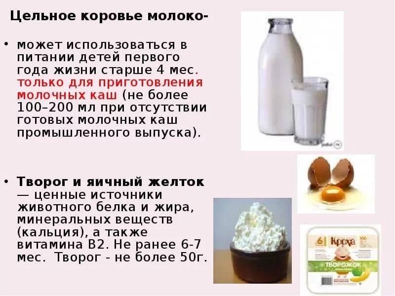 Можно ли годовалому ребенку молоко из магазина