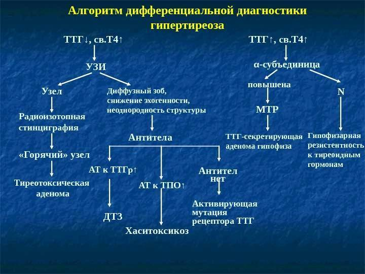 Ттг (тиреотропный гормон)