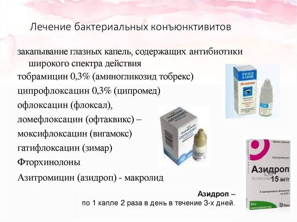 Лечение конъюнктивита левомицетиновыми каплями - энциклопедия ochkov.net