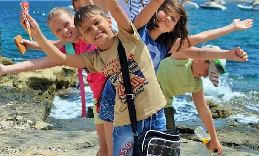 Детские лагеря на море для детей 6 лет