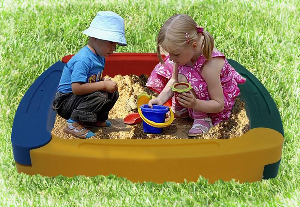 Песочница с крышкой детская