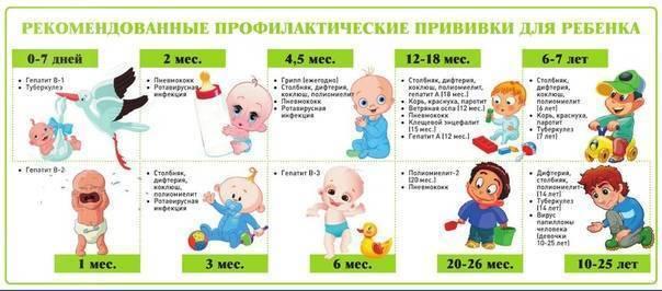 Можно ли купать ребенка после прививки от гепатита b и сколько нельзя мочить место укола