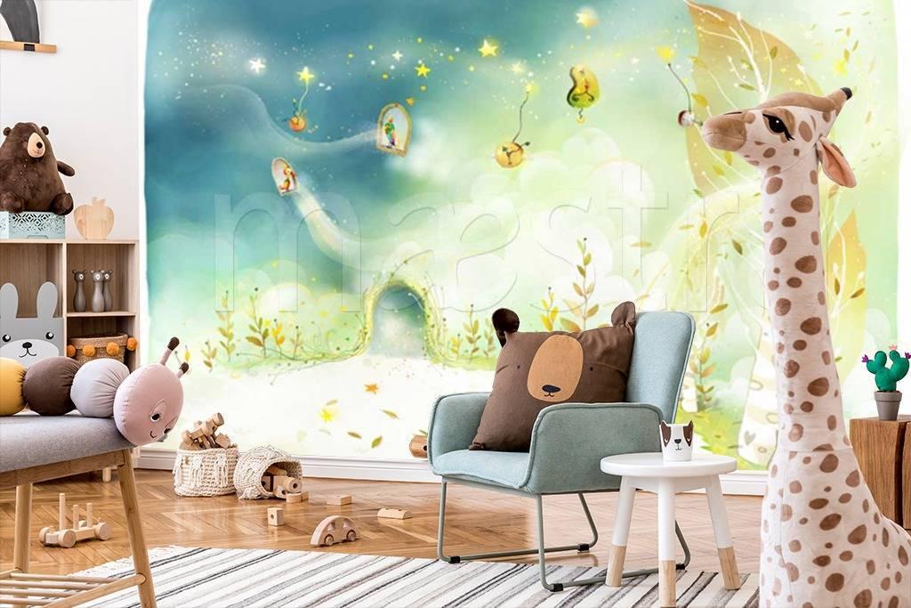 Фотообои для детской комнаты мальчика — правильны выбор обоев