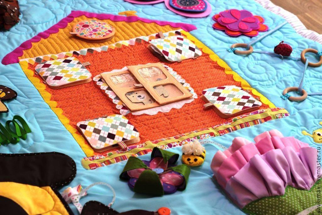 Как сделать детский коврик своими руками