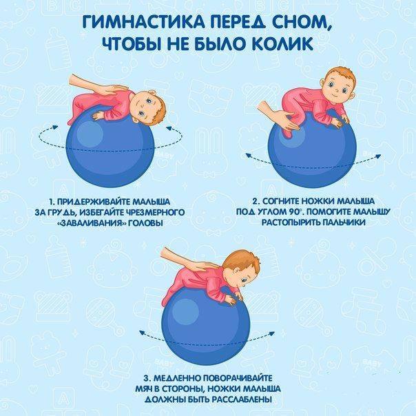 Гимнастика для здоровья ребенка в 2 месяца