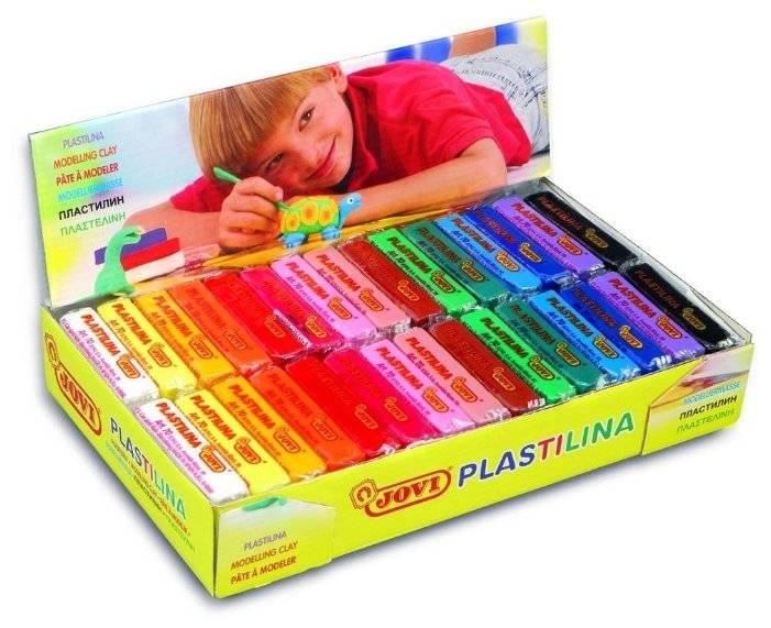 Тестируем детский пластилин