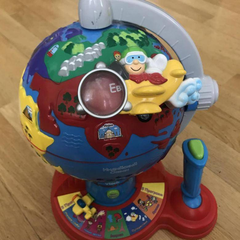 Обучающие глобусы: развивающая детская интерактивная модель vtech, fisher price, альтернативы