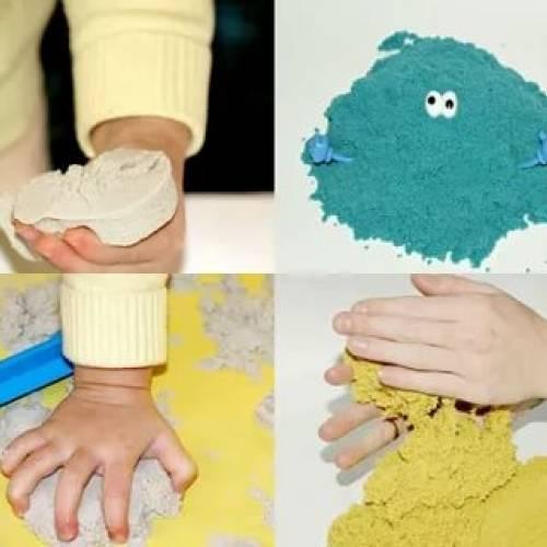 ☀️кинетический, космический и живой песок — что выбрать