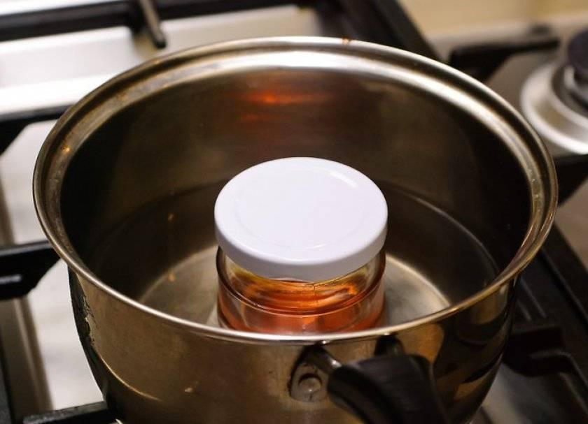 Как стерилизовать подсолнечное масло для новорожденного