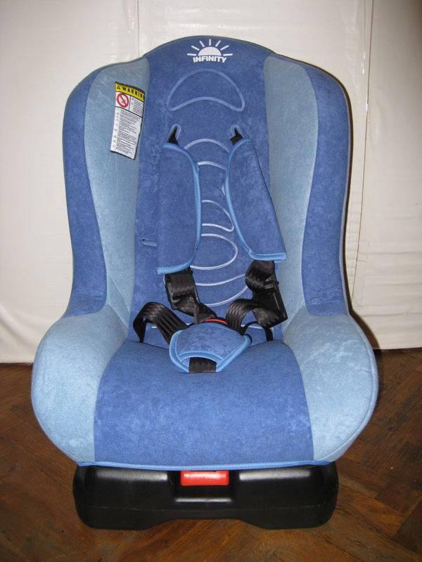 Установка детского кресла infinity