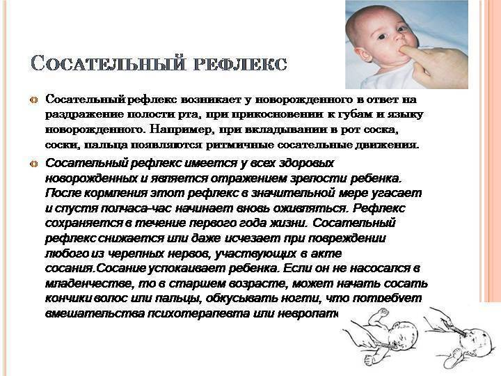 Рефлексы новорожденного: моро, реакции бабинского, бабкина, галанта, таблица по месяцам - мед-инфо