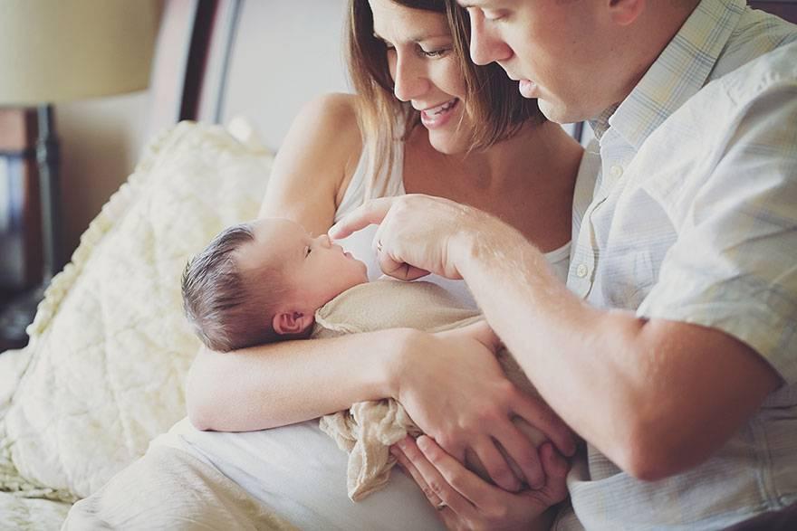 Первые дни с младенцем дома: 6 советов маме