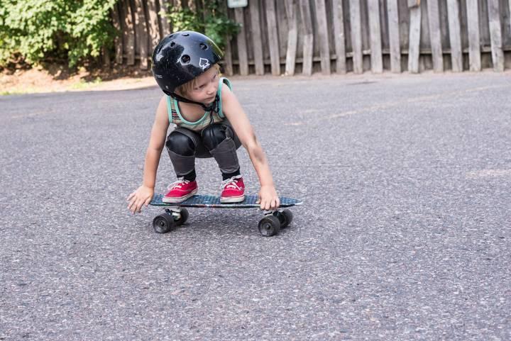 Скейтборд для начинающих детей