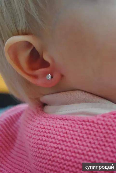 «ну она же девочка…» — не аргумент! вот в каком возрасте можно проколоть уши своему ребенку, не раньше.