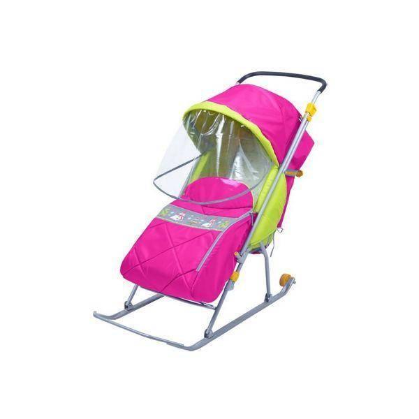 Санки-коляска nika (39 фото): модели «ника детям 7-2», 3 и 5, как сложить и собрать транспортное детское средство с колесами