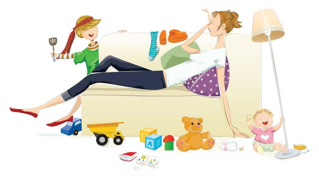 Как молодой маме все успевать по дому