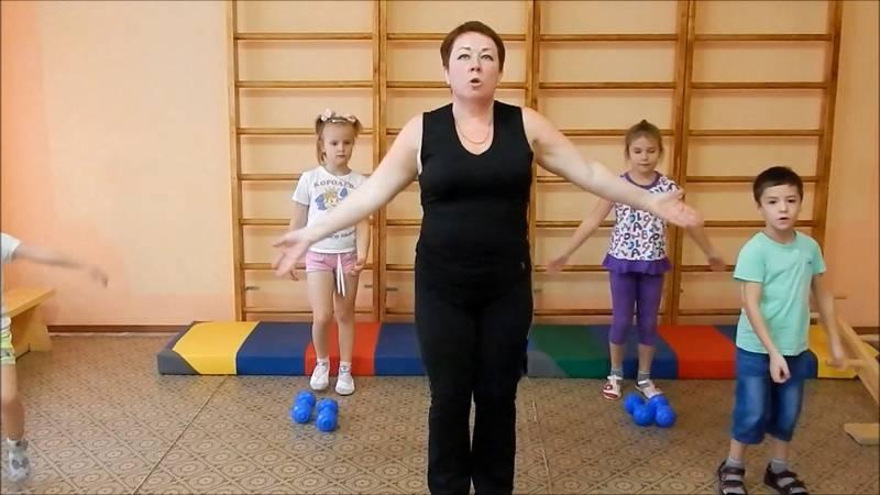 Гимнастика для детей 7-8 лет: зарядка - комплекс упражнений, веселый спортивный комплекс