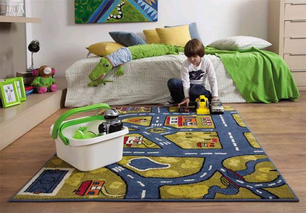 Ковролин в детскую комнату – 9 советов по выбору