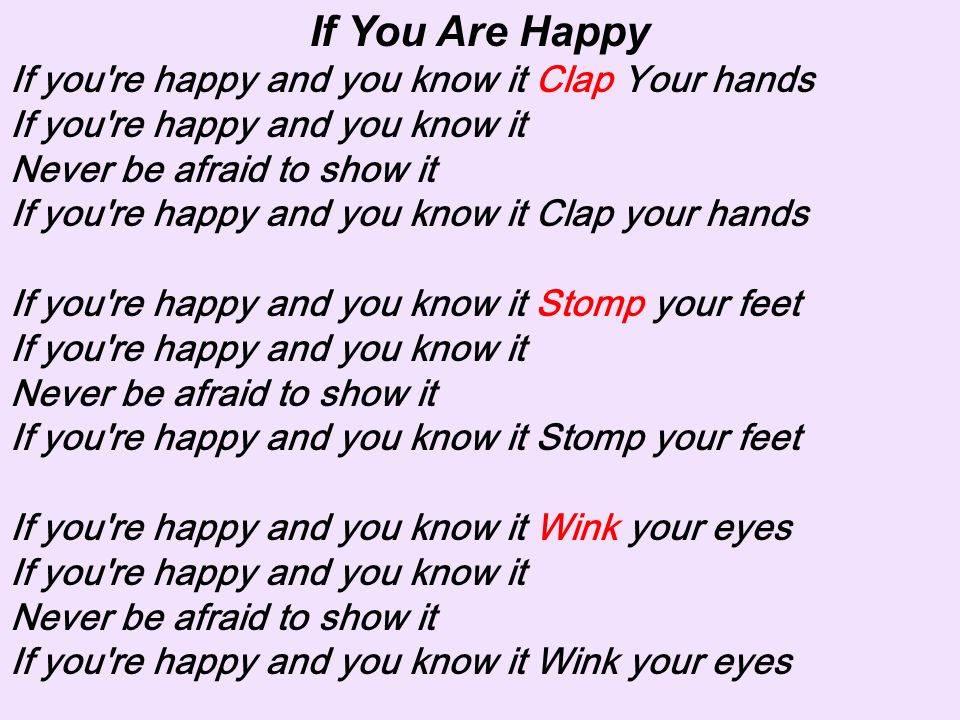 English for kids - if you are happy and you know it №75236000 - прослушать музыку бесплатно, быстрый поиск музыки, онлайн радио, cкачать mp3 бесплатно, онлайн mp3 - dydka.com
