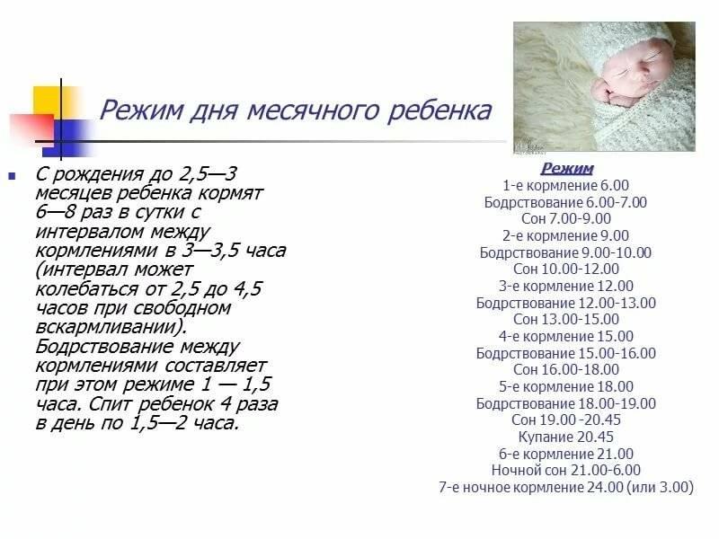 Режим дня ребенка для здоровья и иммунитета | азбука здоровья